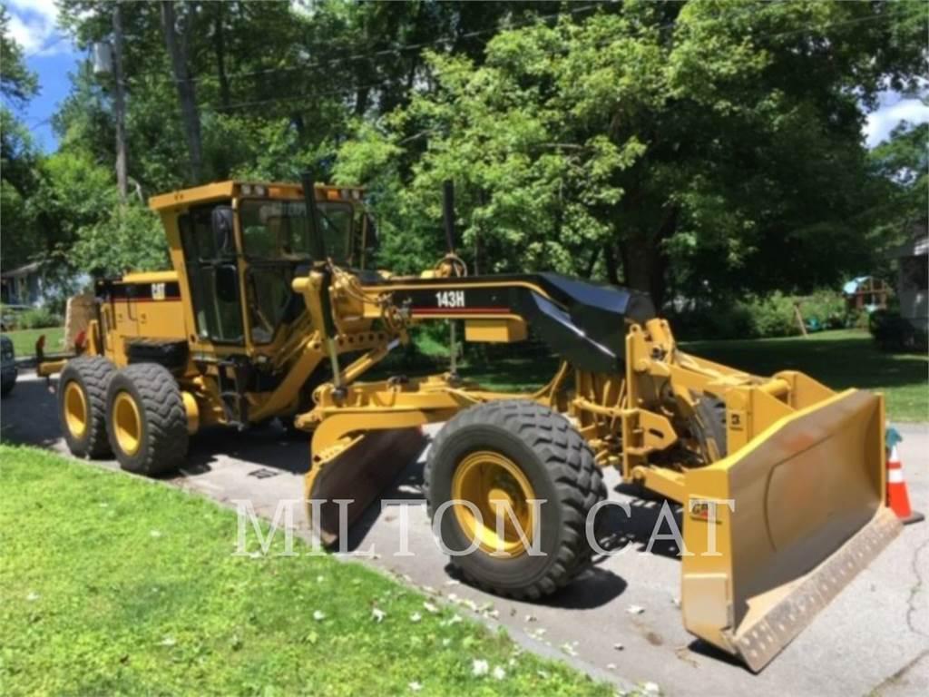 Caterpillar 143H, motor graders, Construction