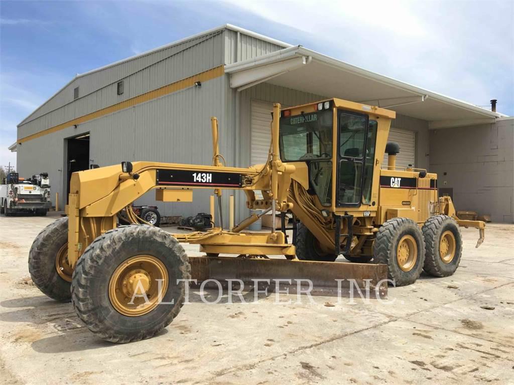 Caterpillar 143H, autogreder minier, Constructii