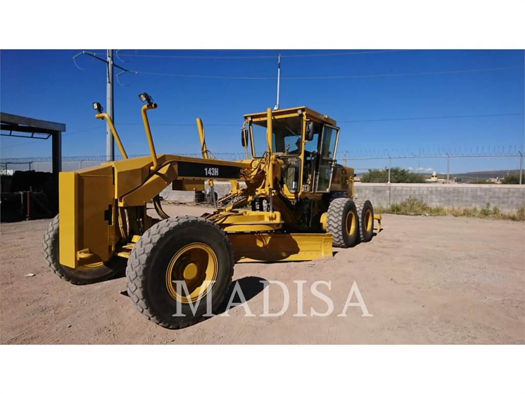 Caterpillar 143H, motor graders, Construction