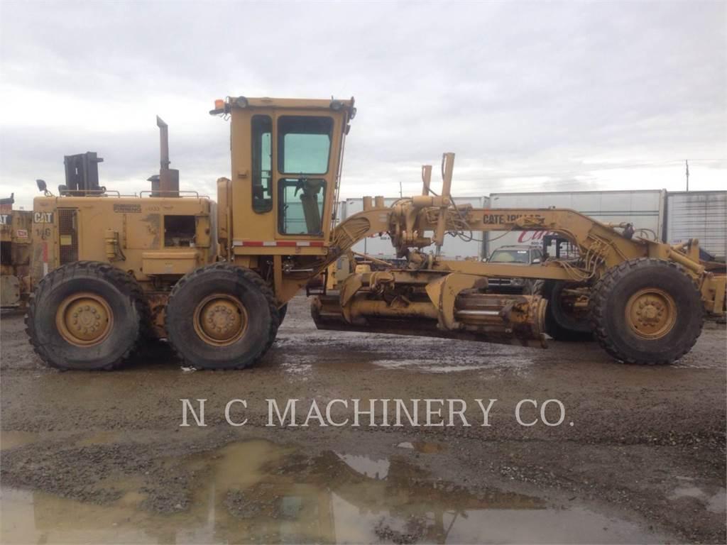 Caterpillar 14G, motor graders, Construction