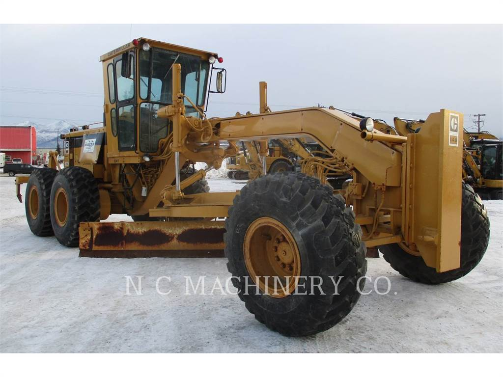 Caterpillar 14G、鉱業用モータ・グレーダ、建設