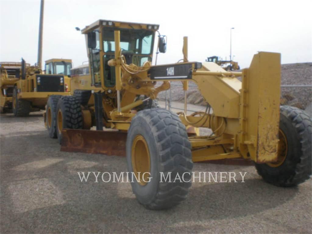 Caterpillar 14H, niveleuses pour mines, Équipement De Construction