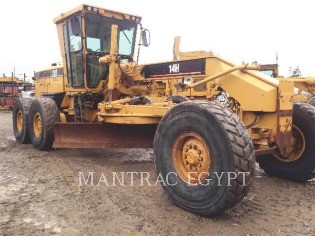 Caterpillar 14H, motor graders, Construction