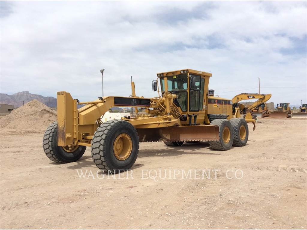 Caterpillar 14H, motor graders, Construction
