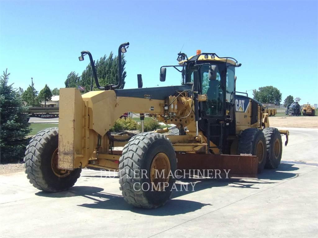 Caterpillar 14M, motor graders, Construction