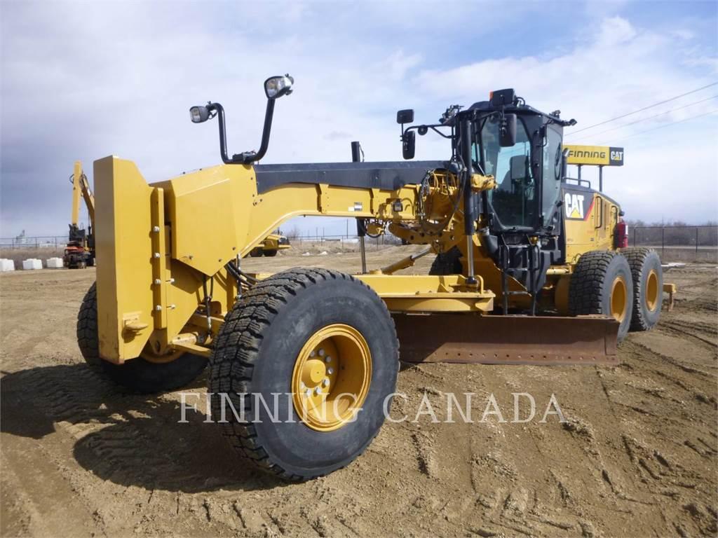 Caterpillar 14M, autogreder minier, Constructii