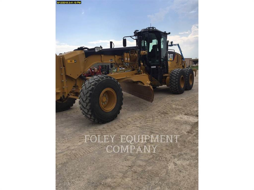 Caterpillar 14M, motor graders, Construction