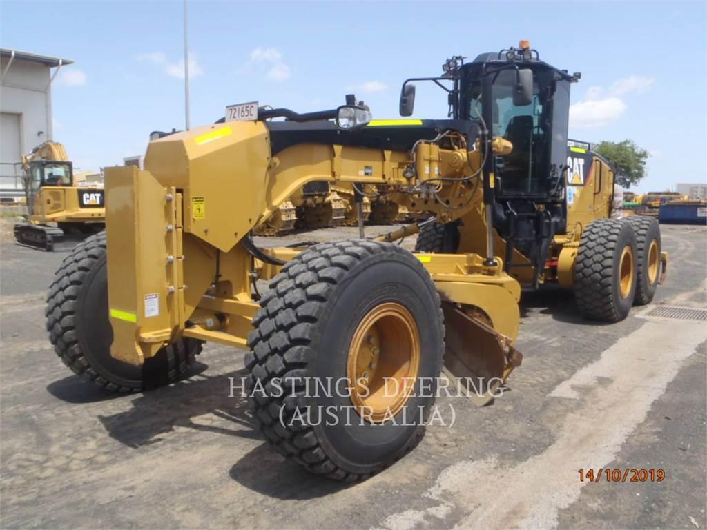 Caterpillar 14M, motoniveladora de mineração, Equipamentos Construção