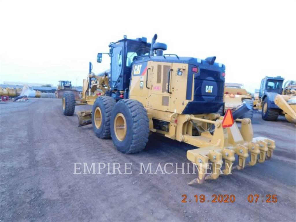 Caterpillar 14M3, autogreder minier, Constructii