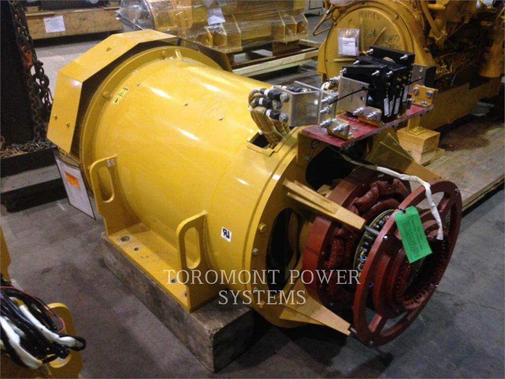 Caterpillar 1500KW_480VOLTS_60HZ_SR5, Systems / Components, Construction