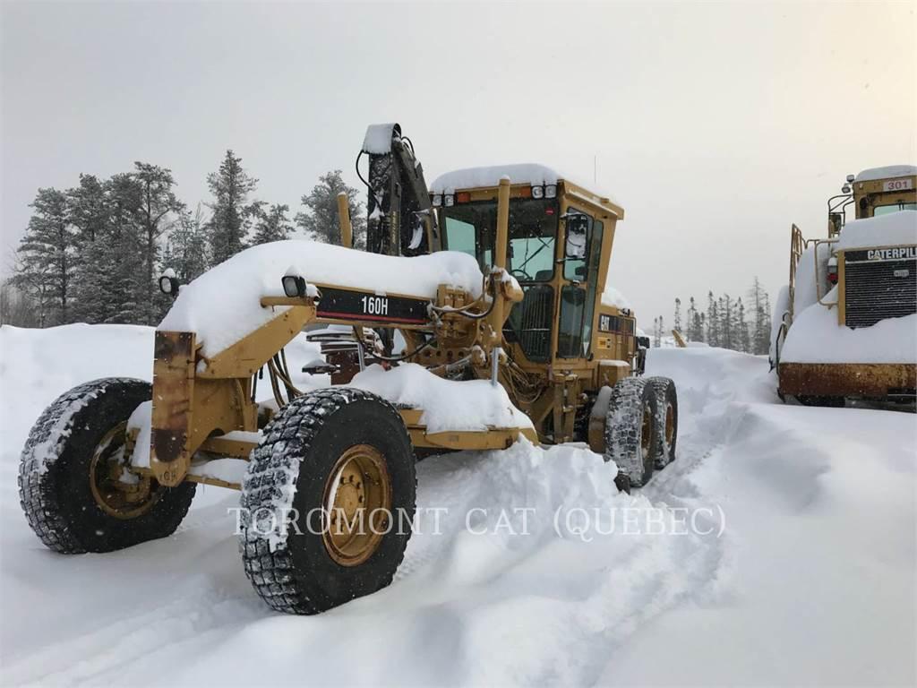 Caterpillar 160HNA, motoniveladoras para minería, Construcción