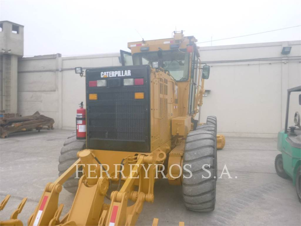 Caterpillar 160K, motor graders, Construction