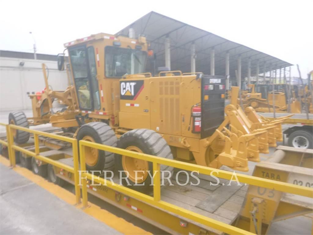Caterpillar 160K, motorgrader mijnbouw, Bouw