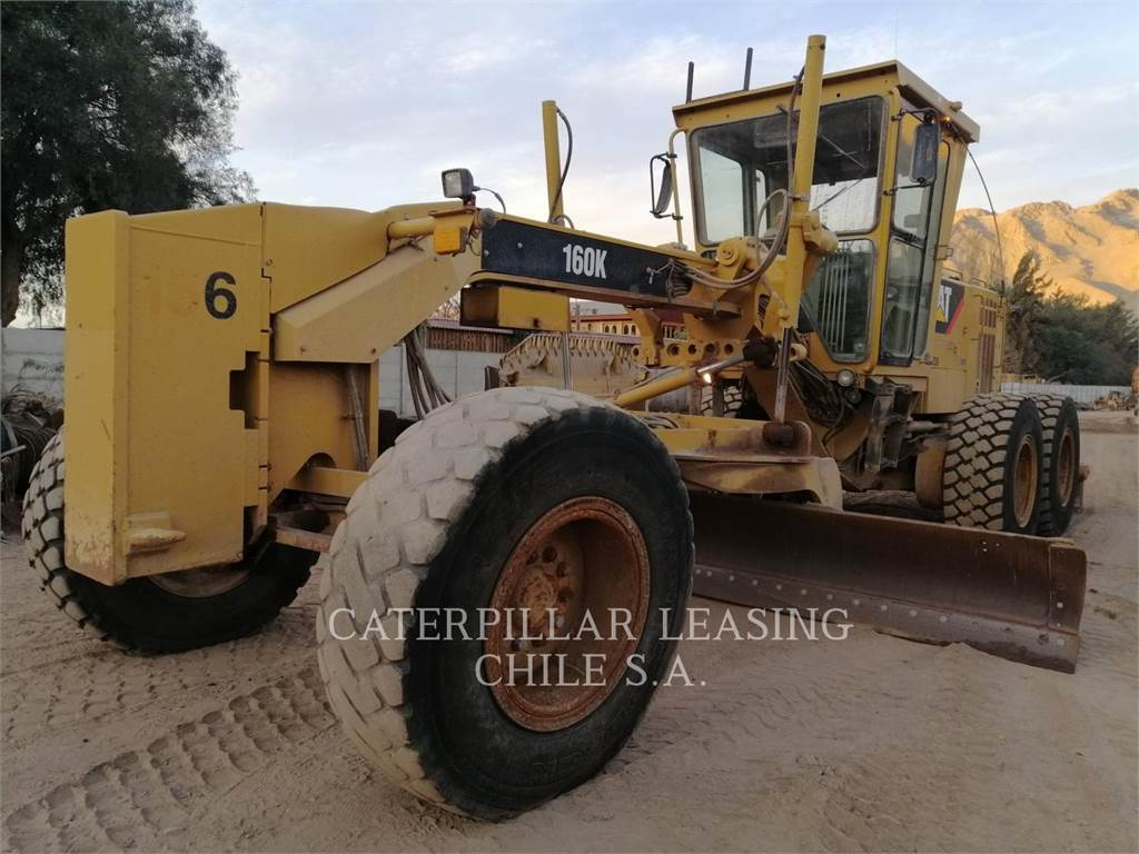 Caterpillar 160K, bergbau-motorgrader, Bau-Und Bergbauausrüstung