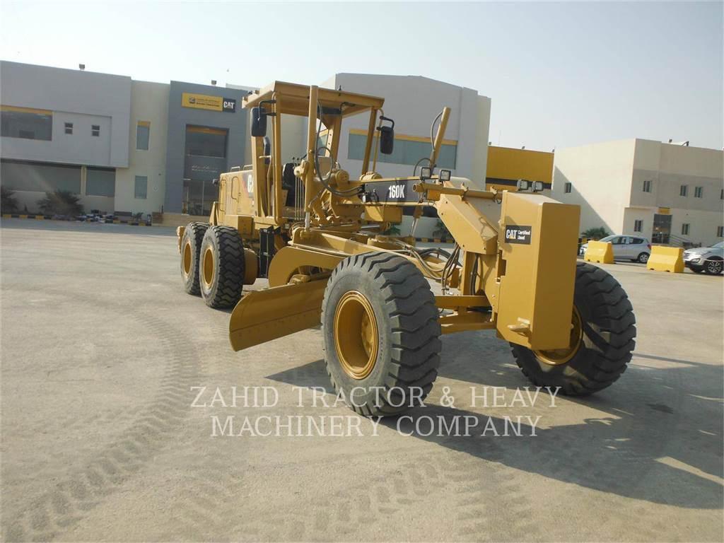 Caterpillar 160K、鉱業用モータ・グレーダ、建設