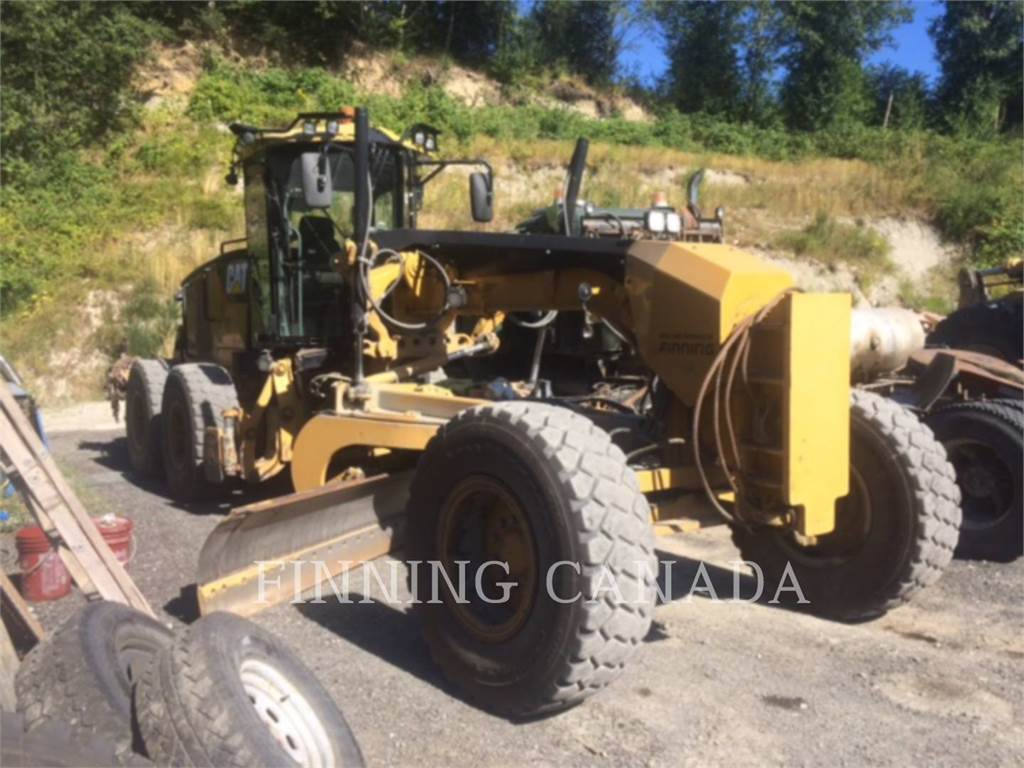 Caterpillar 160M, motor graders, Construction