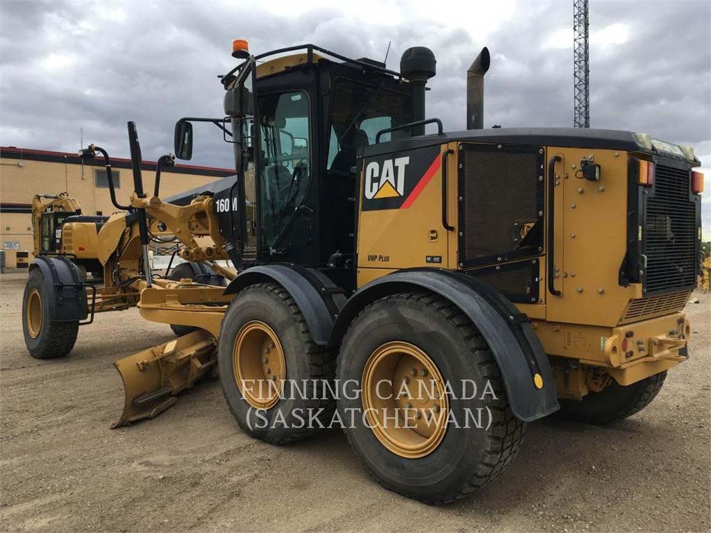 Caterpillar 160M, motoniveladoras para minería, Construcción