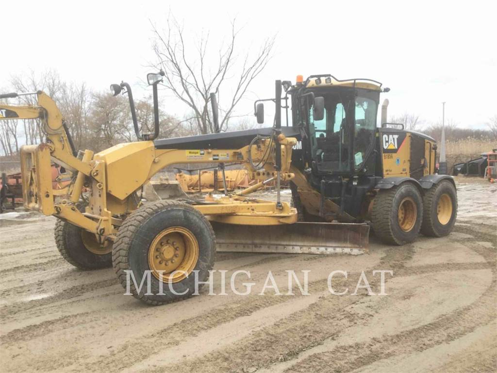 Caterpillar 160M, motor graders, Construction