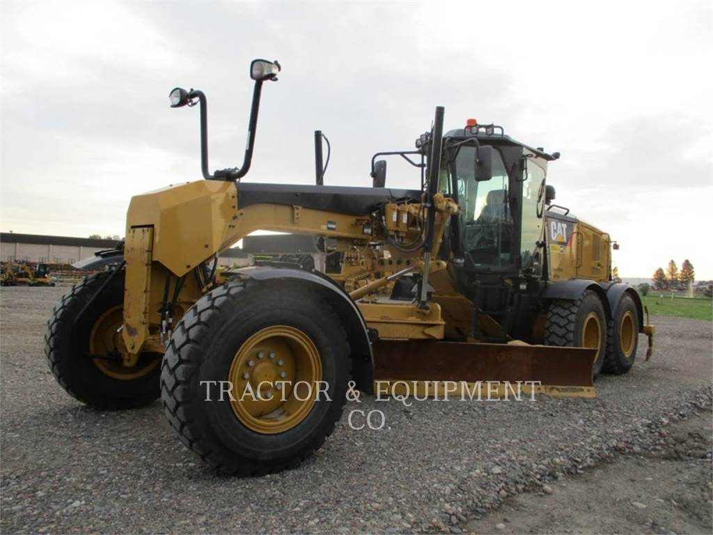 Caterpillar 160M2, motor graders, Construction