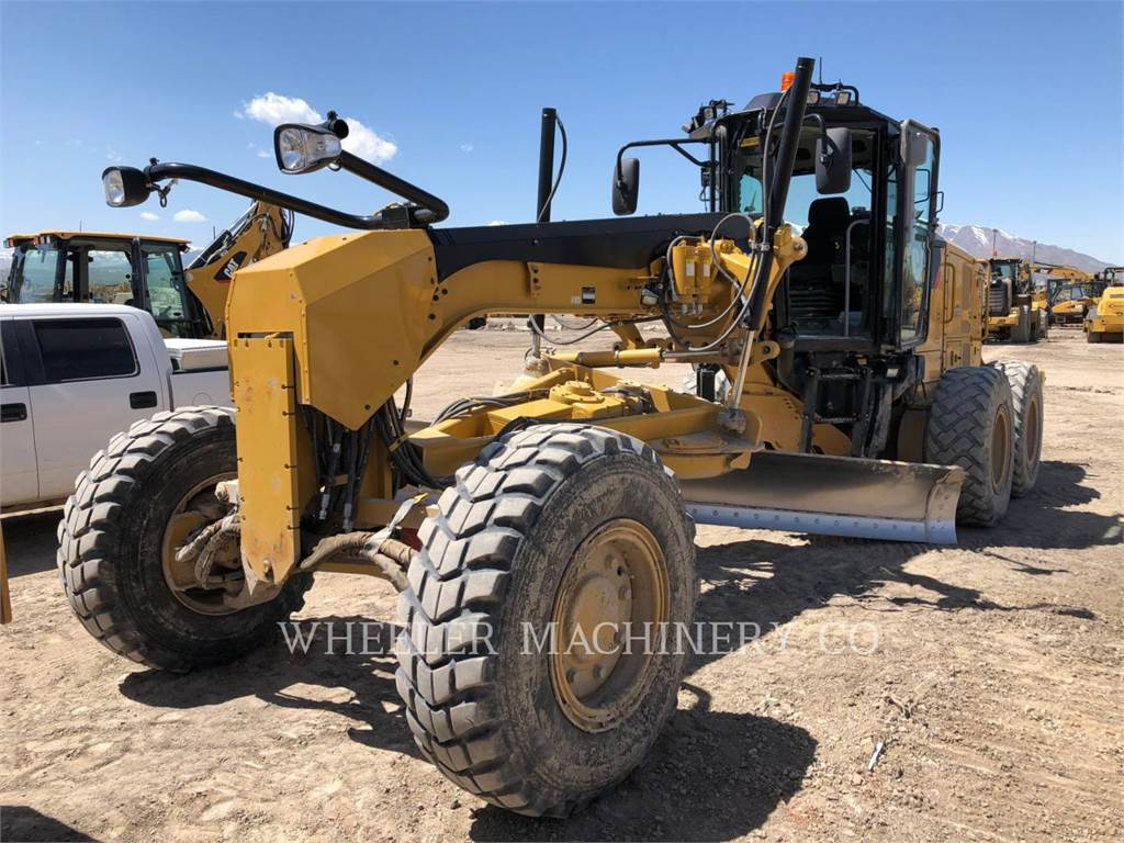 Caterpillar 160M2 AWD, autogreder minier, Constructii