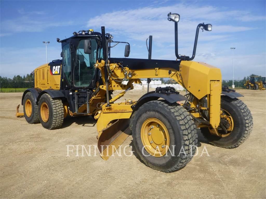 Caterpillar 160M2AWD, autogreder minier, Constructii