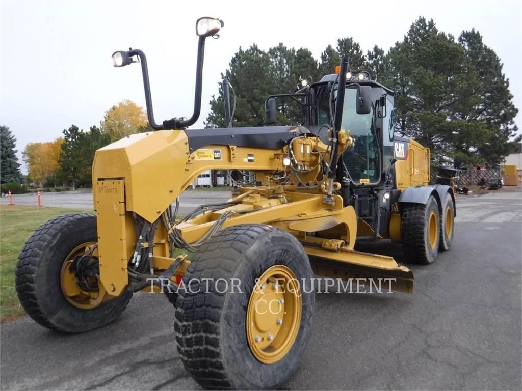 Caterpillar 160M3AWD, autogreder minier, Constructii