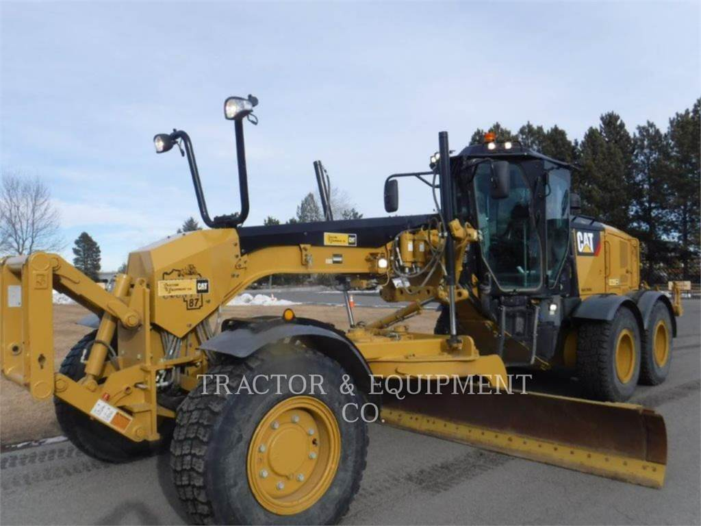 Caterpillar 160M3AWD, motor graders, Construction