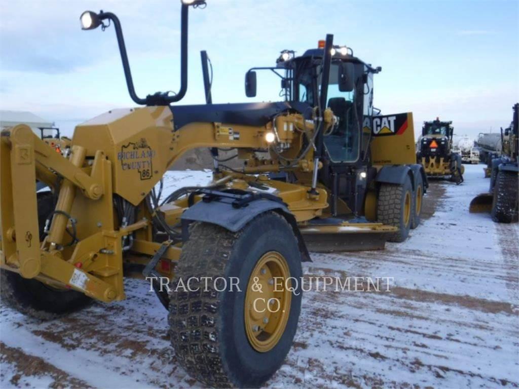 Caterpillar 160M3AWD, kopalniana równiarka samojezdna, Sprzęt budowlany