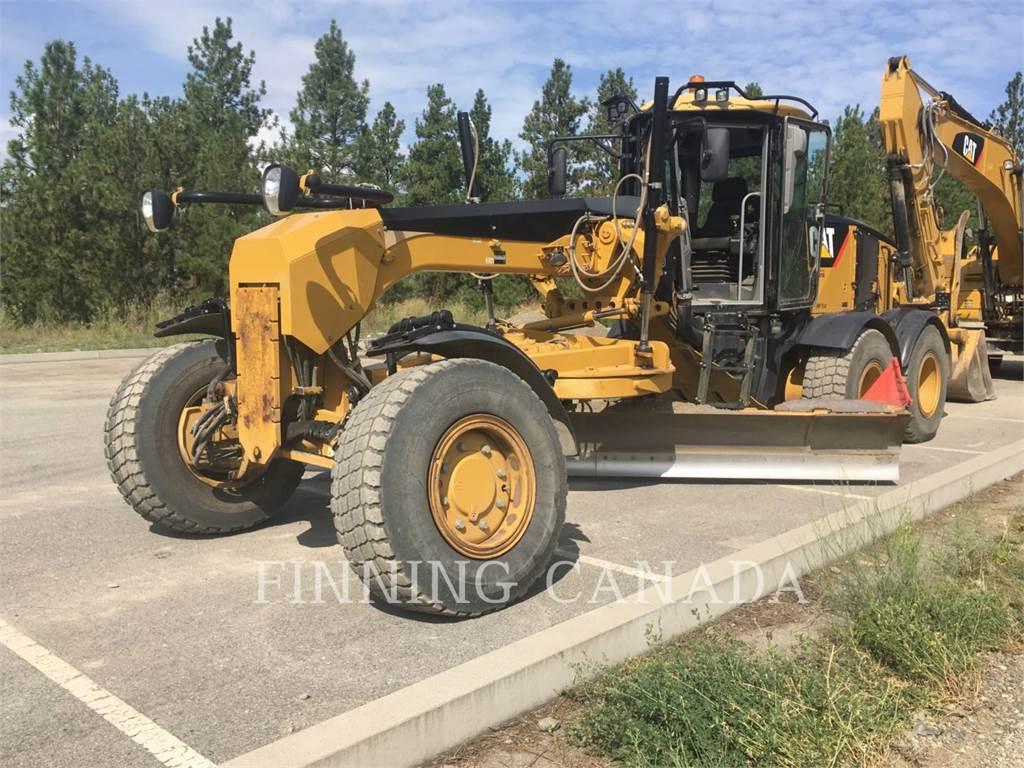 Caterpillar 160MAWD, motor graders, Construction