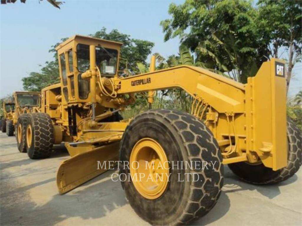 Caterpillar 16G, motor graders, Construction