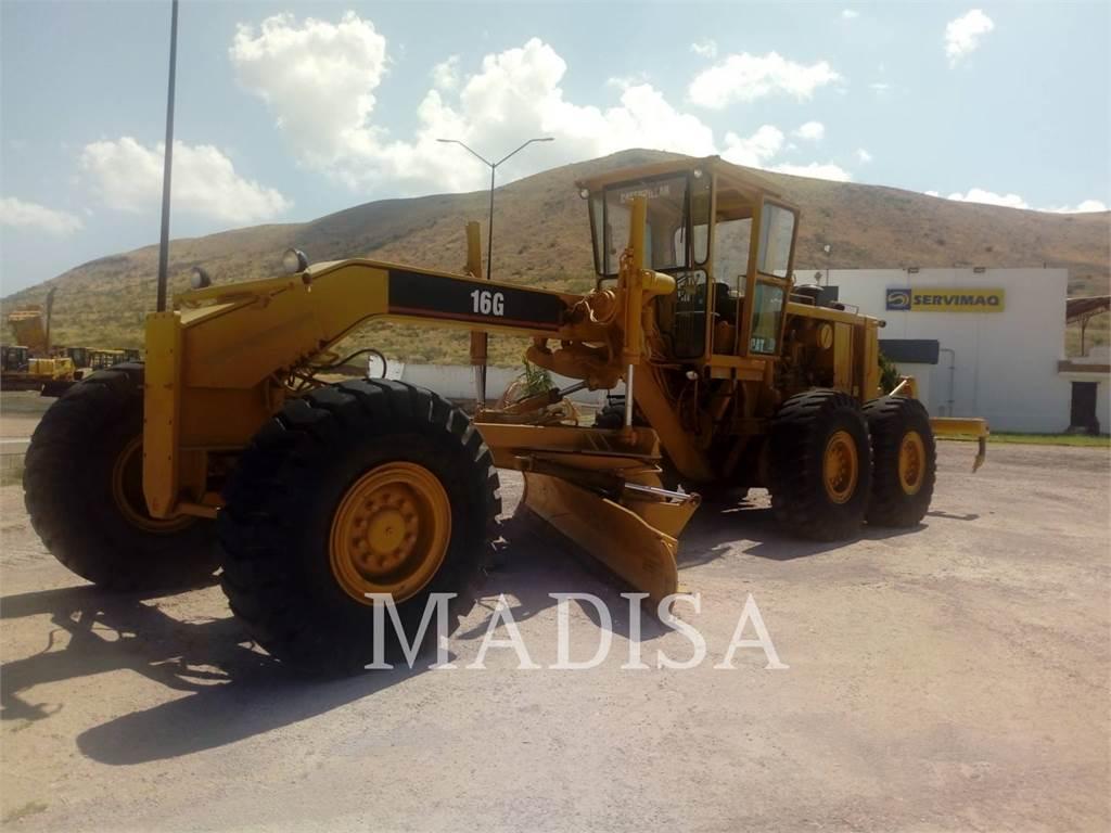 Caterpillar 16G, autogreder minier, Constructii