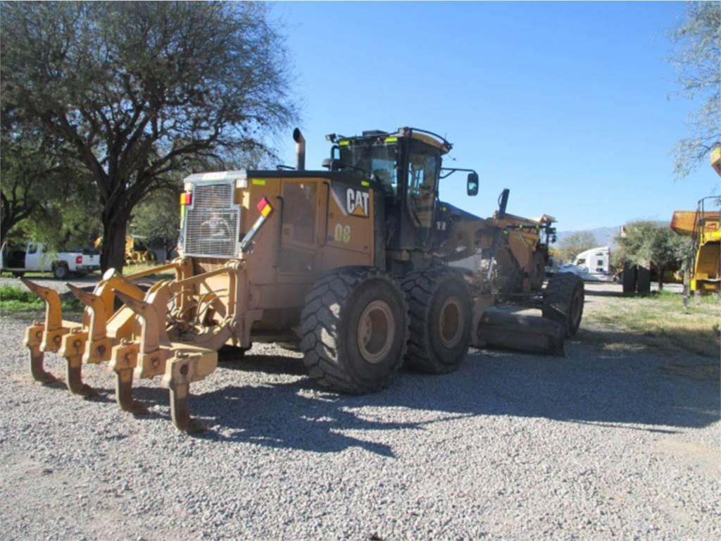 Caterpillar 16M, motoniveladoras para minería, Construcción