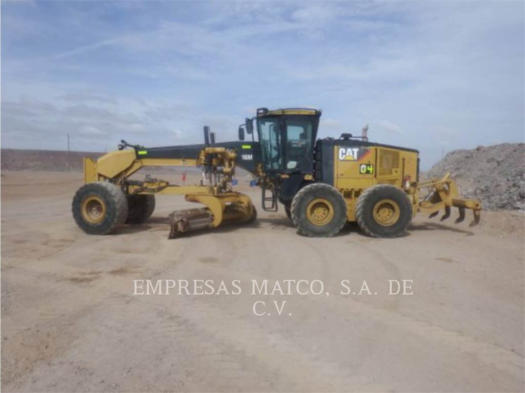Caterpillar 16M, motor graders, Construction