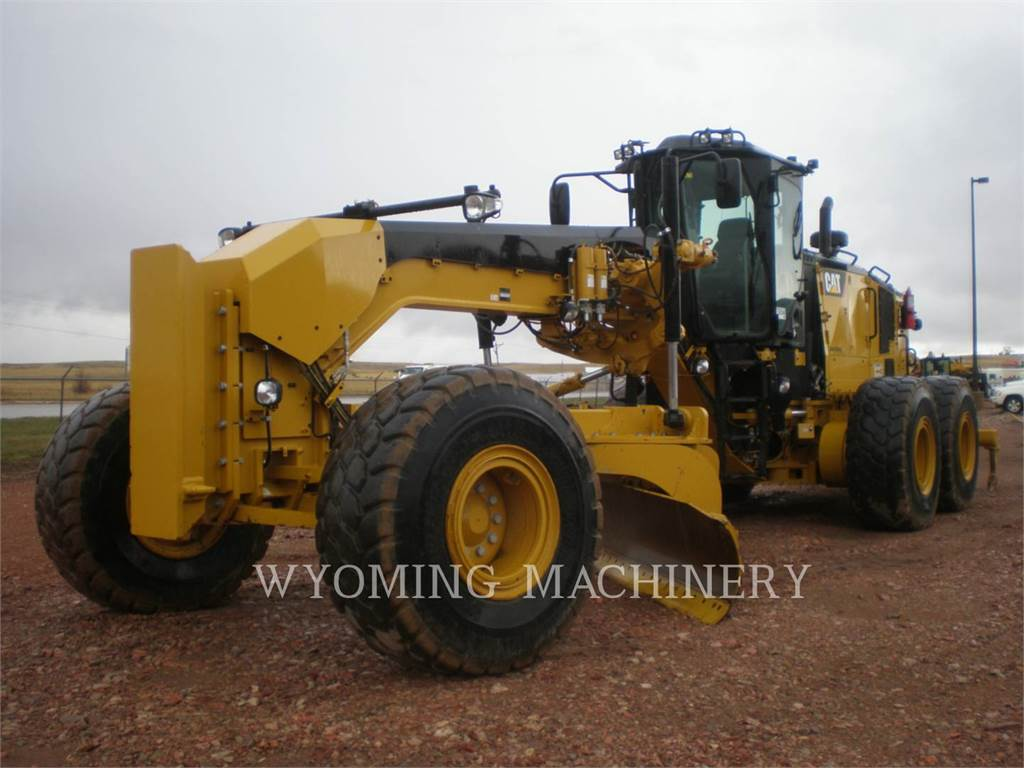 Caterpillar 16M3, motor graders, Construction
