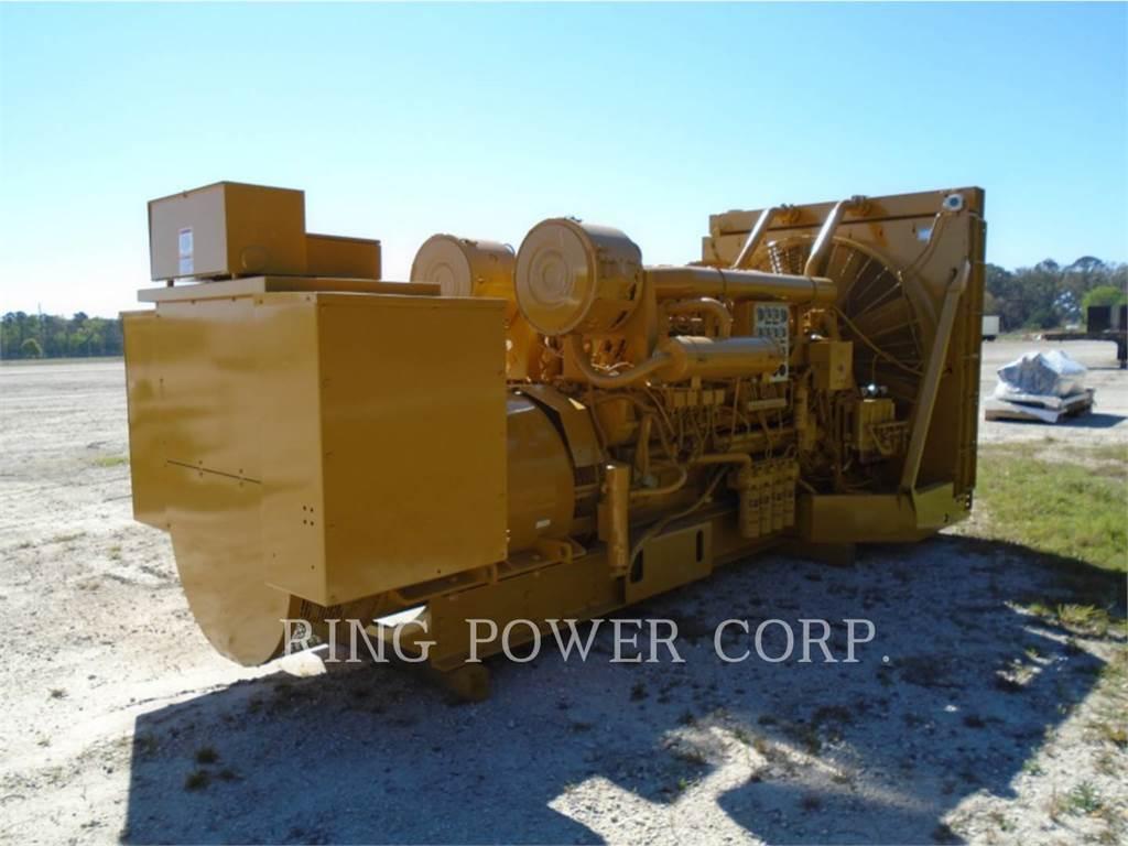 Caterpillar 1750 KW, Stacjonarne Zestawy Generatorów, Sprzęt budowlany