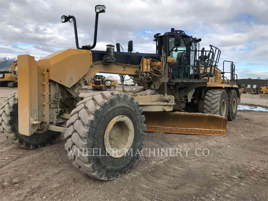 Caterpillar 18M3, motor graders, Construction