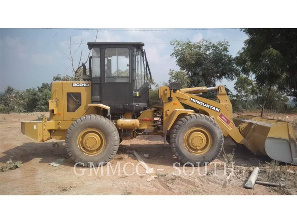 Caterpillar 2021D, Wheel Loaders, Construction