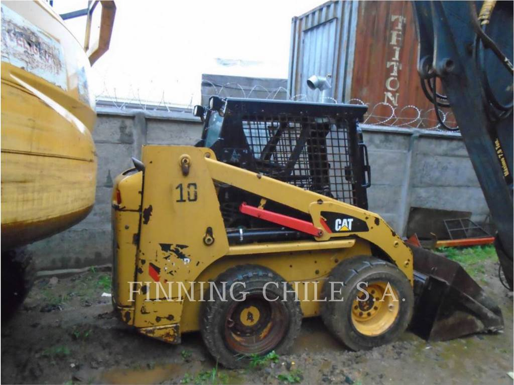 Caterpillar 216B3LRC, Minicargadoras, Construcción
