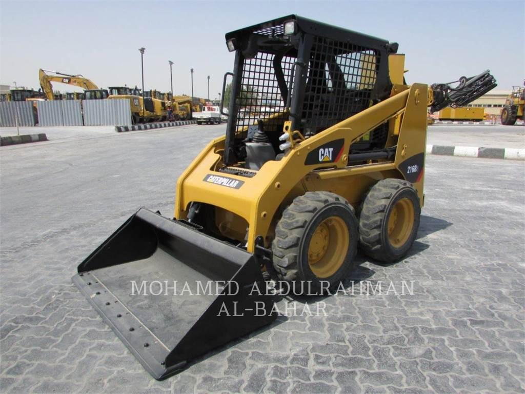 Caterpillar 216B3LRC, Chargeuse compacte, Équipement De Construction