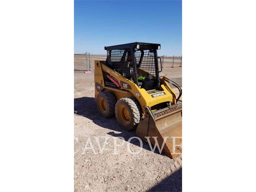 Caterpillar 216B3LRC, Schrankladers, Bouw