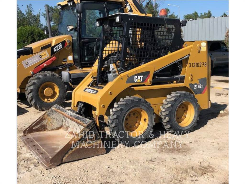 Caterpillar 216B3LRC, Skid Steer Loaders, Construction