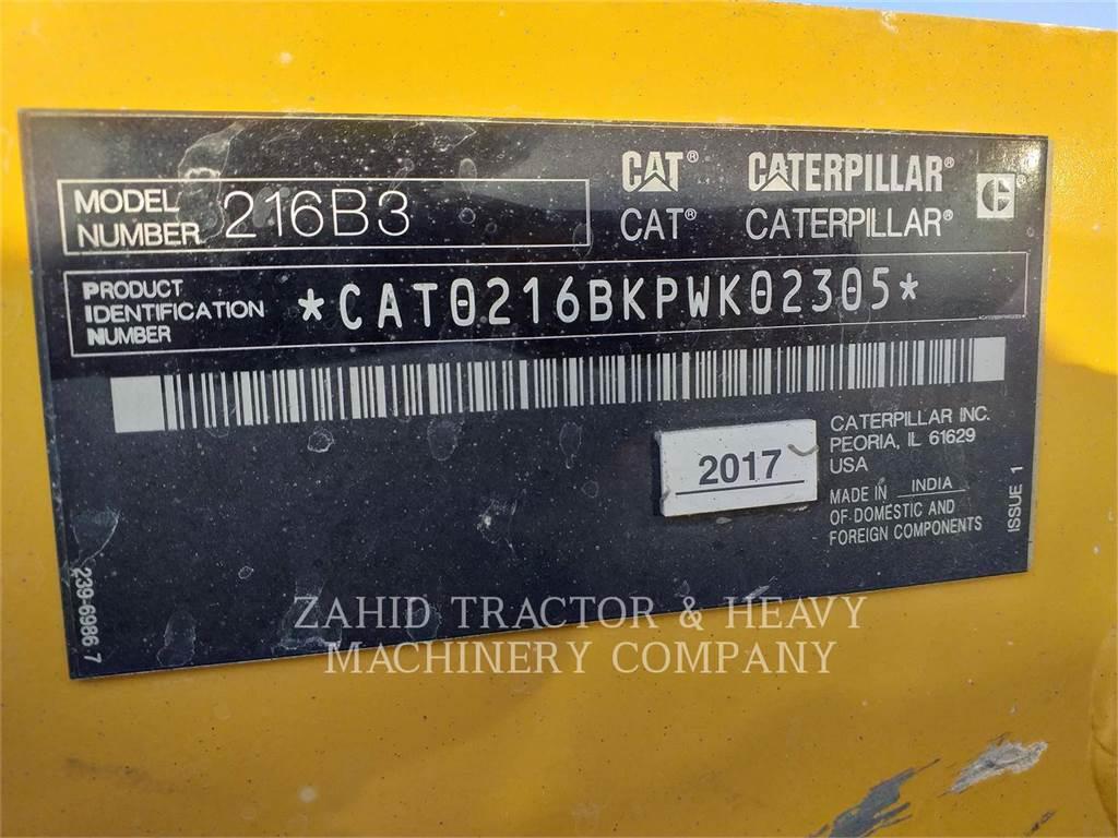 Caterpillar 216B3LRC, Skid Steer Loaders, Construction