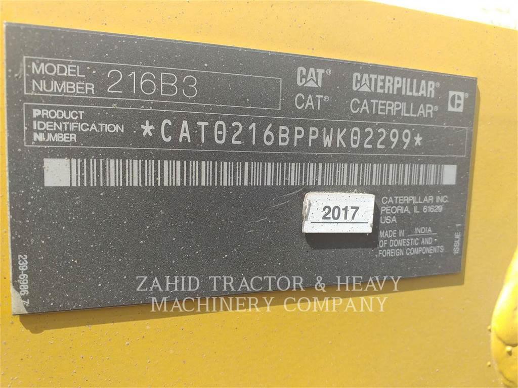 Caterpillar 216B3LRC, Mini Pale Gommate, Attrezzature Da Costruzione