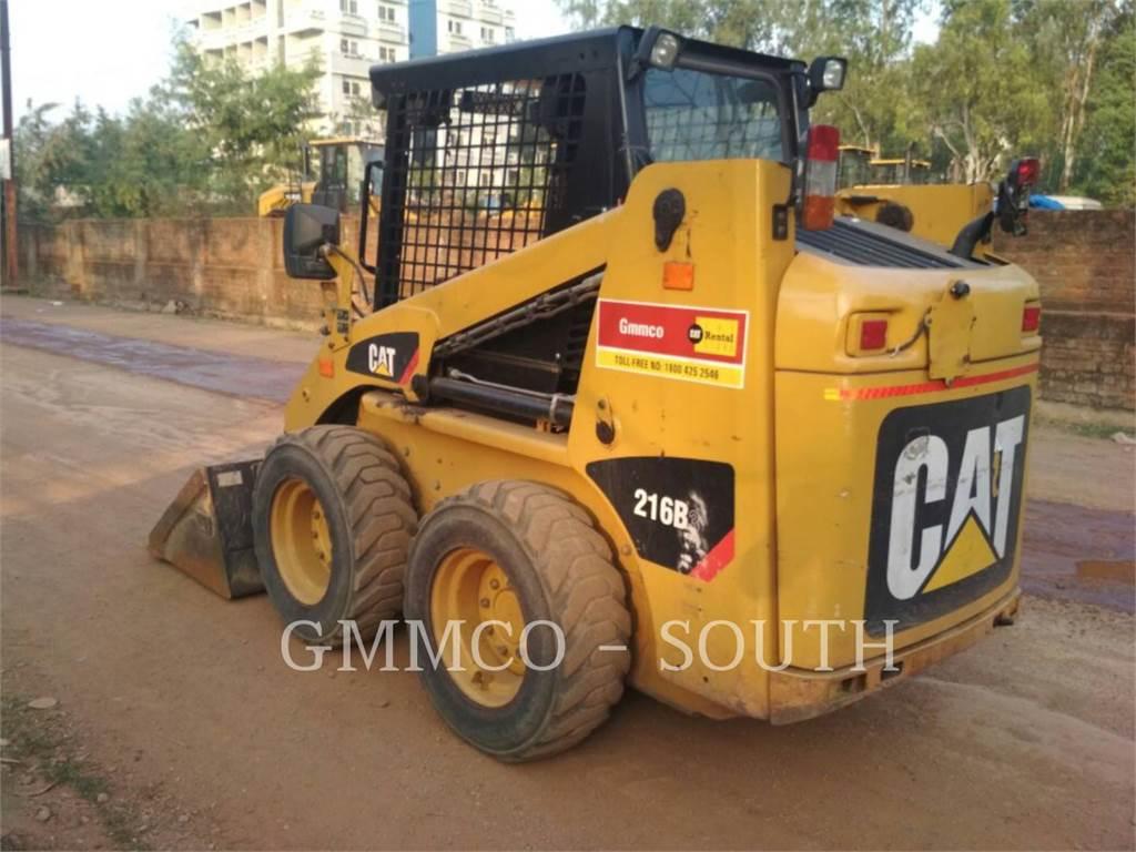 Caterpillar 216B3LRC, Carregadoras de direcção deslizante, Equipamentos Construção