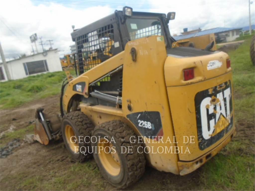 Caterpillar 226B3, Mini ładowarki, Sprzęt budowlany