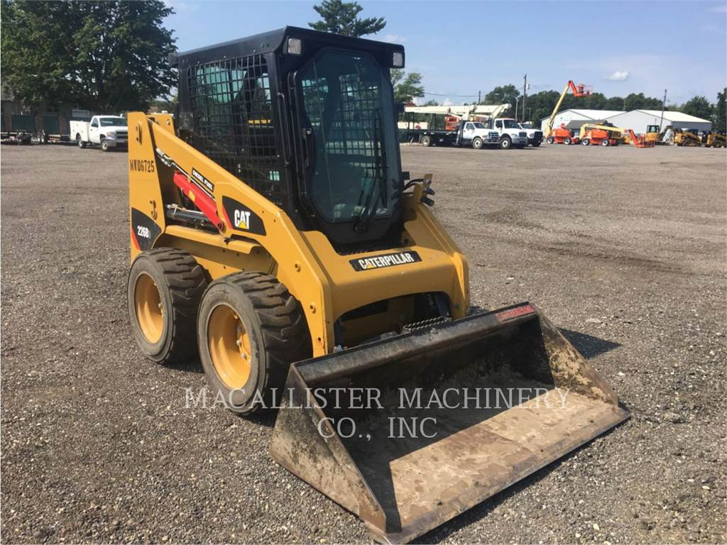 Caterpillar 226B3, Kompaktlader, Bau-Und Bergbauausrüstung