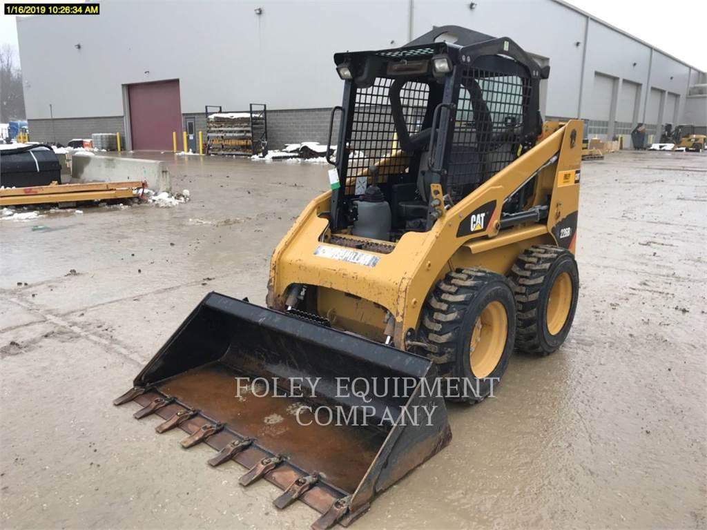 Caterpillar 226B3, Carregadoras de direcção deslizante, Equipamentos Construção