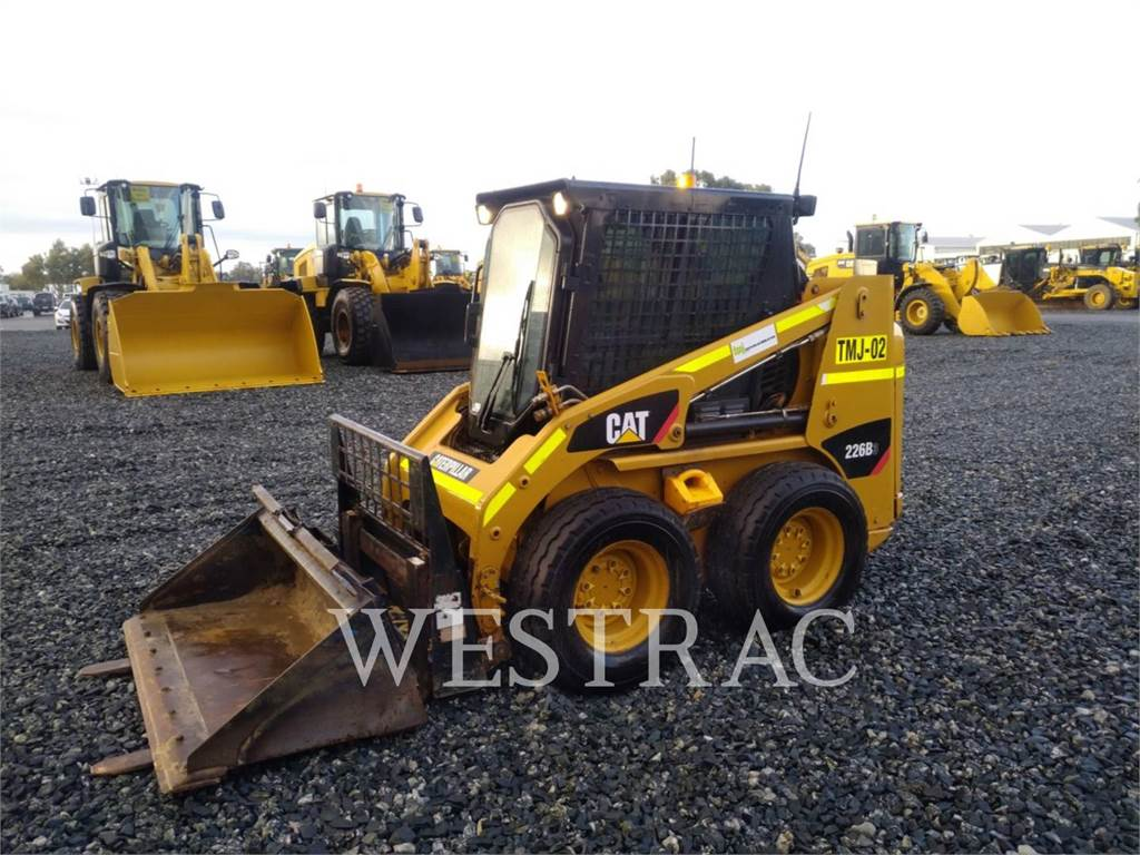 Caterpillar 226B3, Skid Steer Loaders, Construction