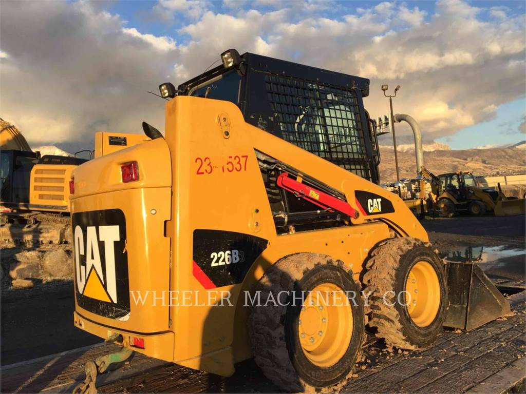 Caterpillar 226B3 C3, Skid Steer Loaders, Construction