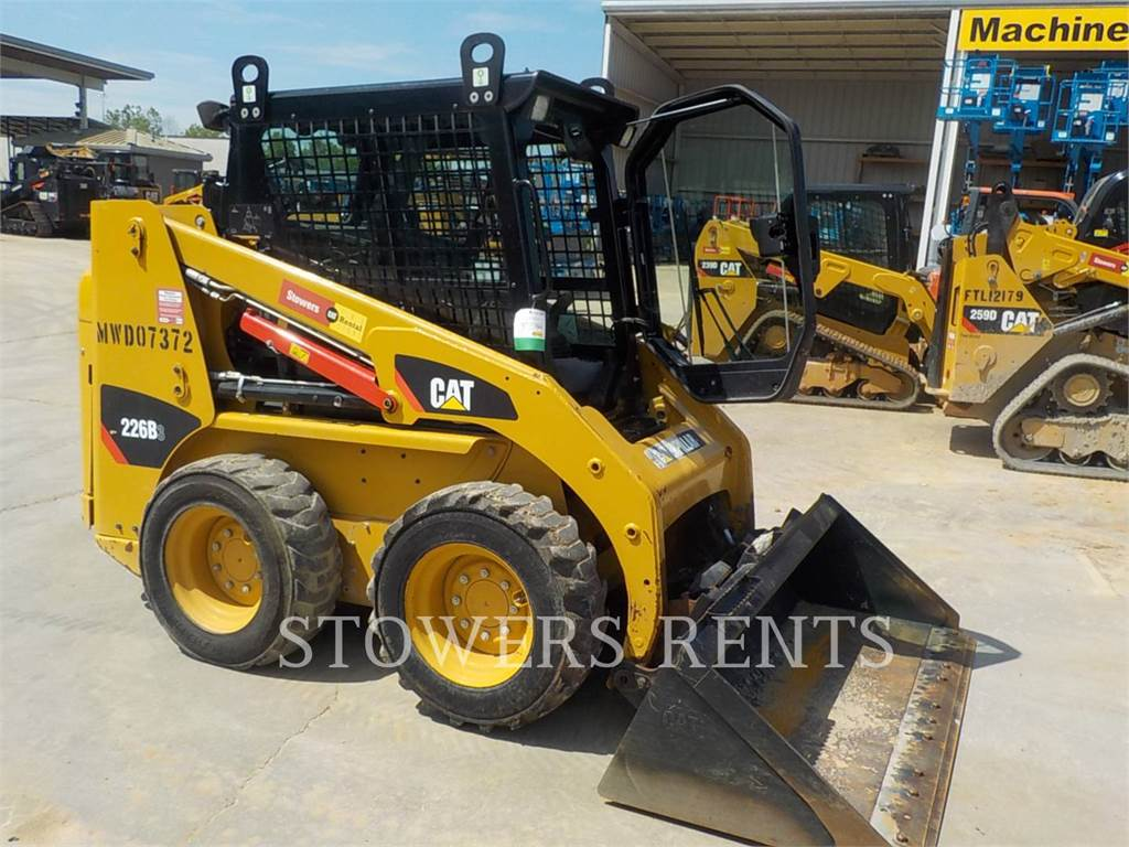Caterpillar 226B3 CAB, Skid Steer Loaders, Construction